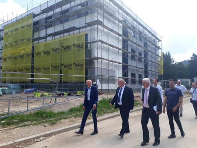 Изградња  Болнице Источно Сарајево (Фото: РТРС)