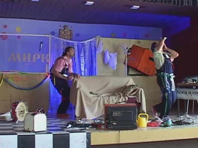 Predstava u Vrbaškoj (Foto: RTRS)