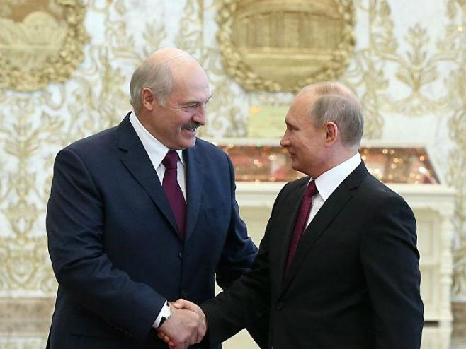 Putin i Lukašenko (Foto: Sputnik/Ekaterina Štukina) -