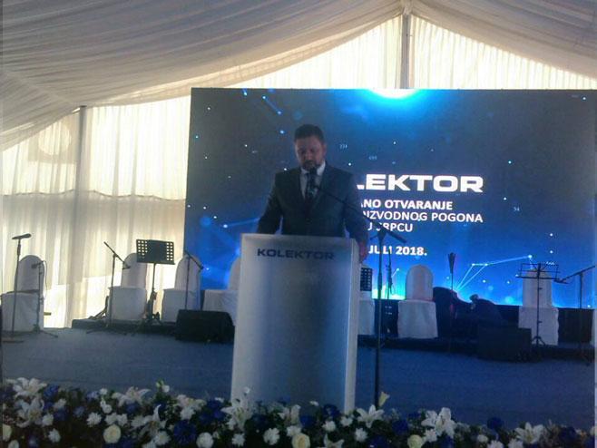 Предраг Зорић, директор Колектора за Републику Српску (Фото: РТРС)