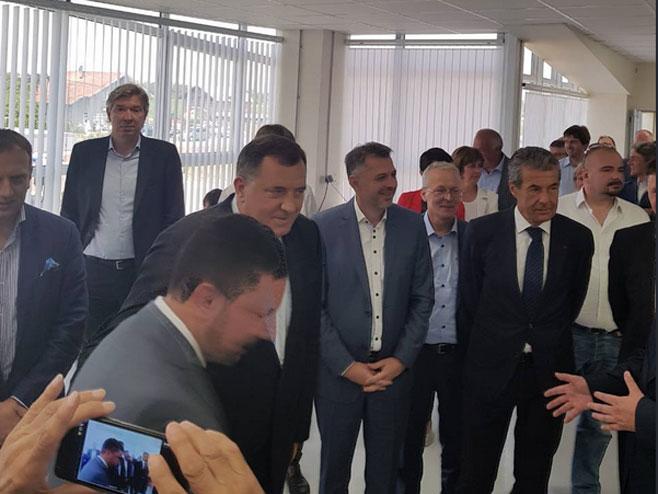 Додик и Радојичић (Фото: СНСД Твитер)