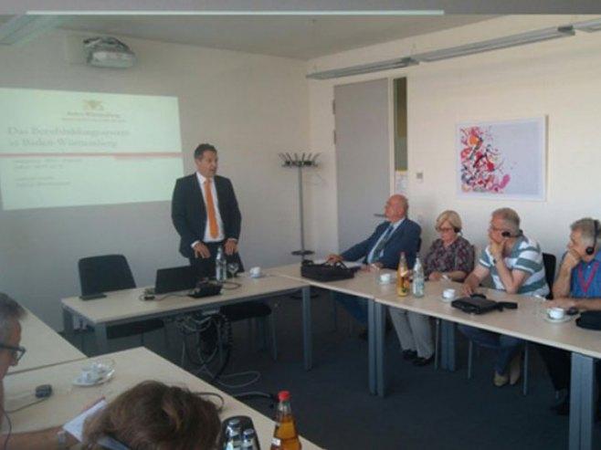 Delegacija iz Srpske u Baden-Virtembergu (Foto: RTRS)