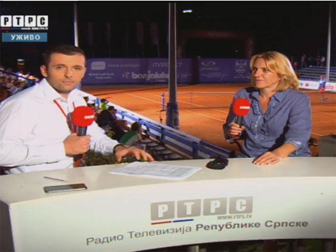 Премијерка Српске на хуманитарном тениском спектаклу