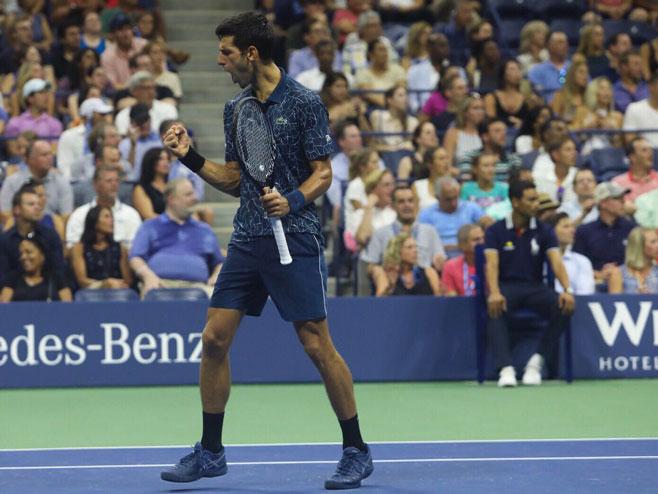 Novak Đoković, US Open (foto: twitter.com/usopen) -