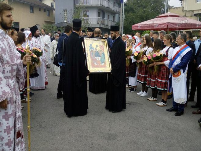 Osveštanje Hrama u Bihaću