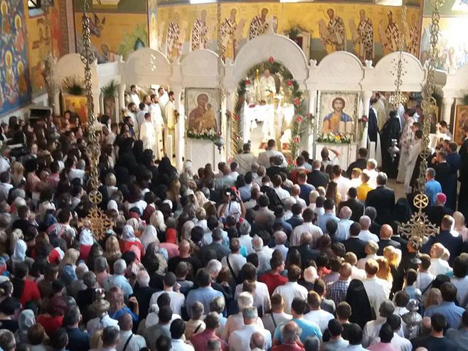 Trebinje- Ustoličenje novog episkopa Dimitrija (Foto: RTRS)