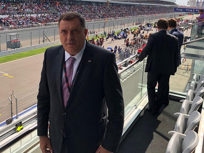 Milorad Dodik u Sočiju (Foto: RTRS)