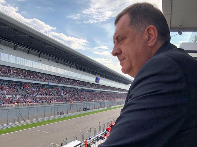 Dodik u Sočiju (Foto: RTRS)