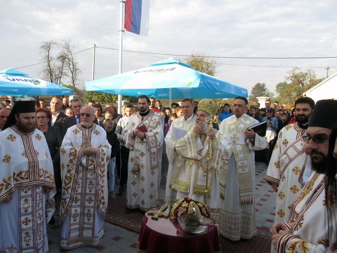 Patrijarh Irinej - liturgija (Foto: SRNA)