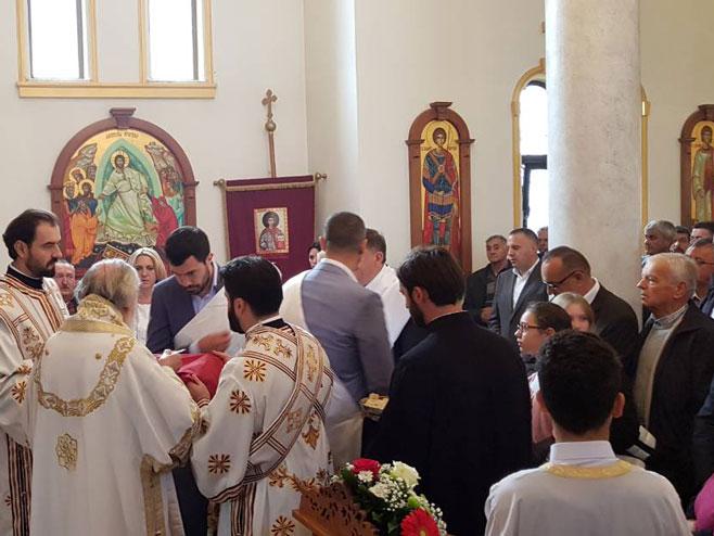 Osveštanje Crkve