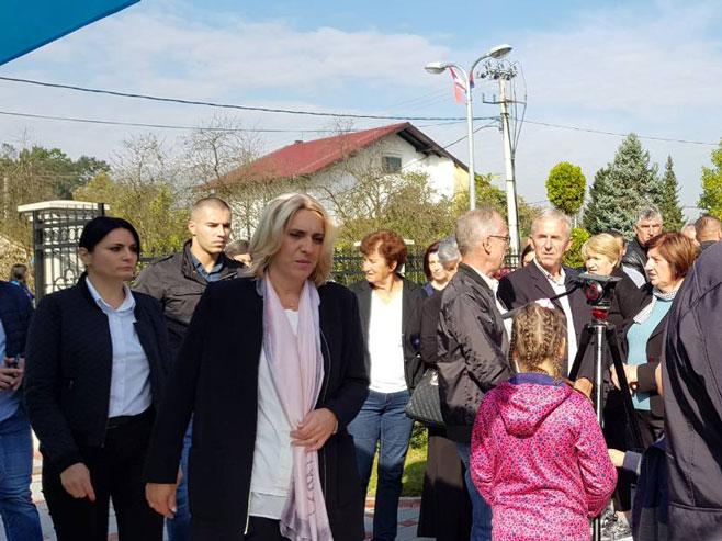 Premijerka Cvijanović (Foto: RTRS)