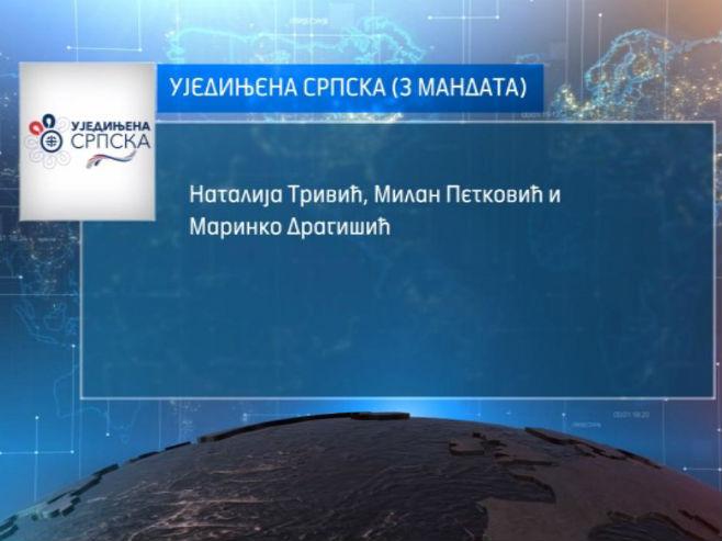 Mandati Ujedinjene Srpske u NSRS