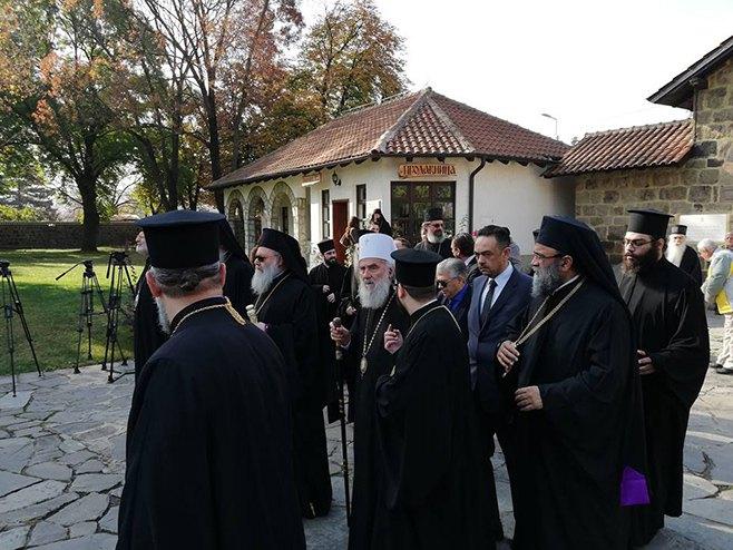 Patrijarh Irinej u Gračanici - Foto: SRNA