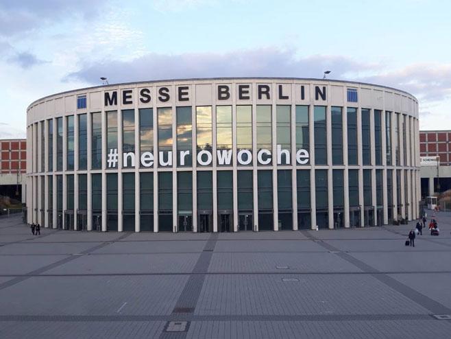 Лица Лафоре на конгресу неуролога Њемачке, Берлин (Фото: РТРС)