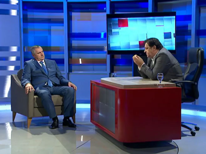 Radovan Višković i Mato Đaković (Foto: RTRS)
