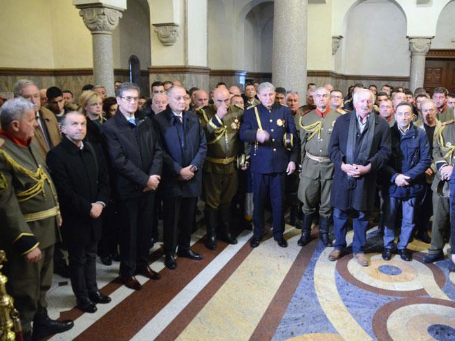 Obilježavanje Dana ulaska Srpske vojske u Banjaluku (FOTO:RTRS)