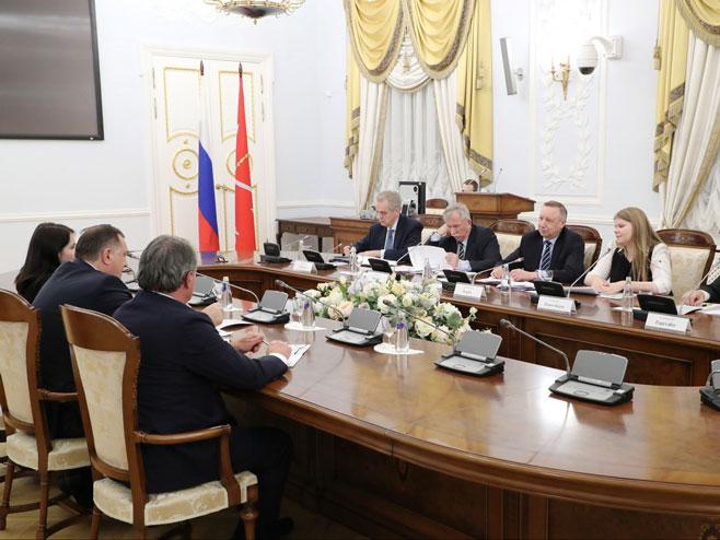 Dodik i Beglov (Foto:www.gov.spb.ru)