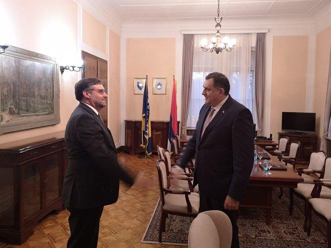 Dodik-Palmer (Foto: RTRS)
