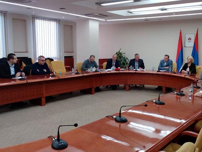 Sjednica Izvršnog komiteta SNSD-a (Foto: RTRS)