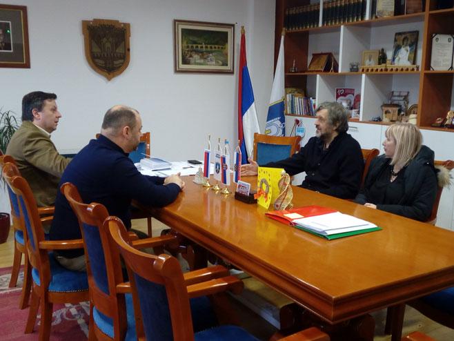 Kusturica i Đurević (Foto: SRNA)
