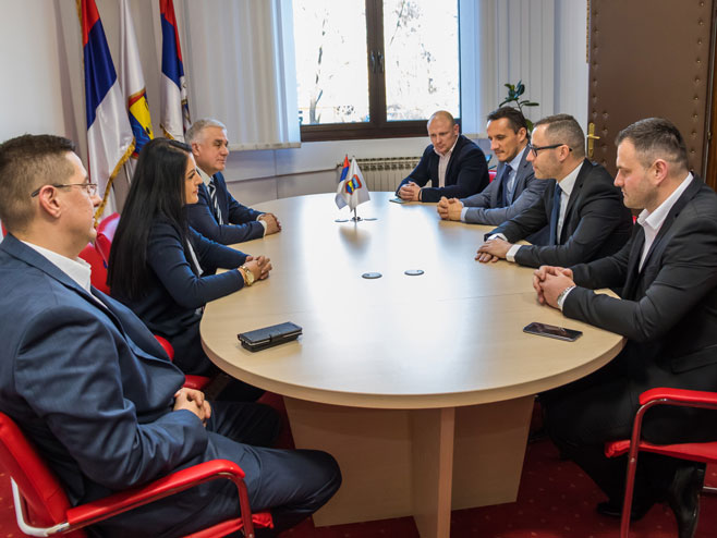 Sonja Davidović, Mile Kovačević i Darko Tomaš
