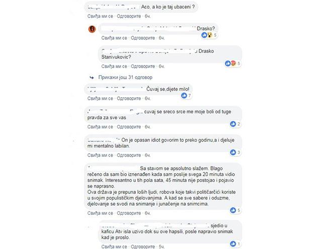 Komentari na fejsbuku (foto:atv)