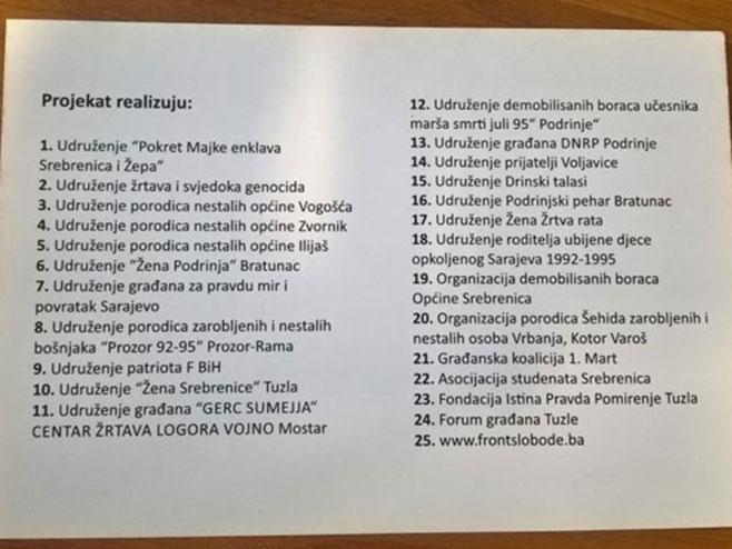 Nove provokacije Federacije BiH (Foto: atvbl.com)