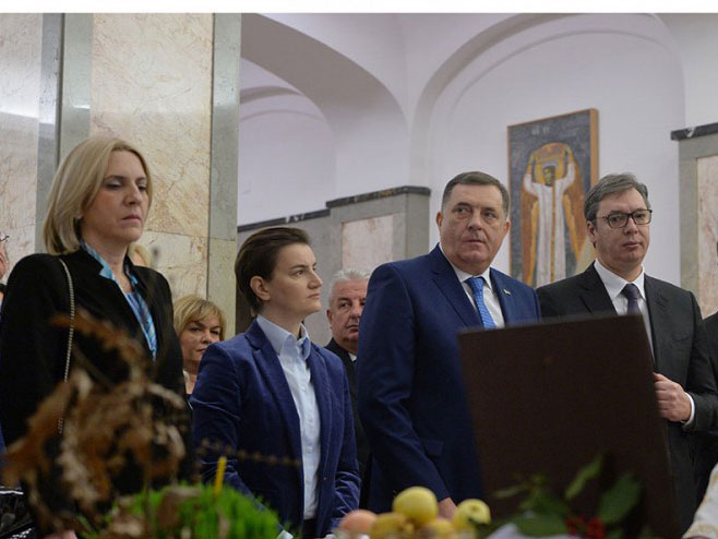 Obilježavanje Badnjeg dana u Beogradu