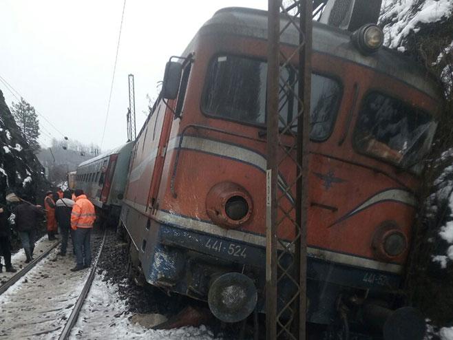 Odron na željezničkoj pruzi