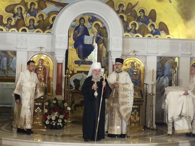 Божићна литургија у Београду (Фото: Срна)