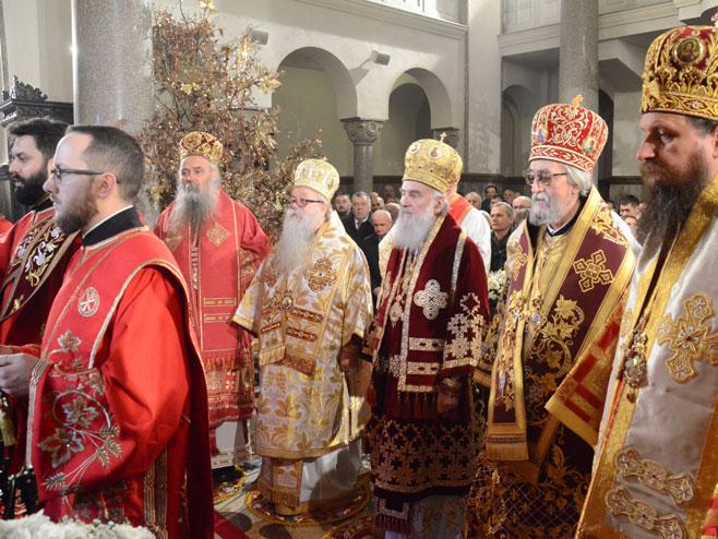 Бањалука - литургија - патријарх (Фото: СРНА)