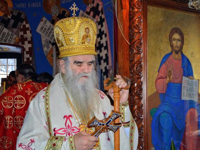 Никшић - митрополит Амфилохије - Фото: СРНА
