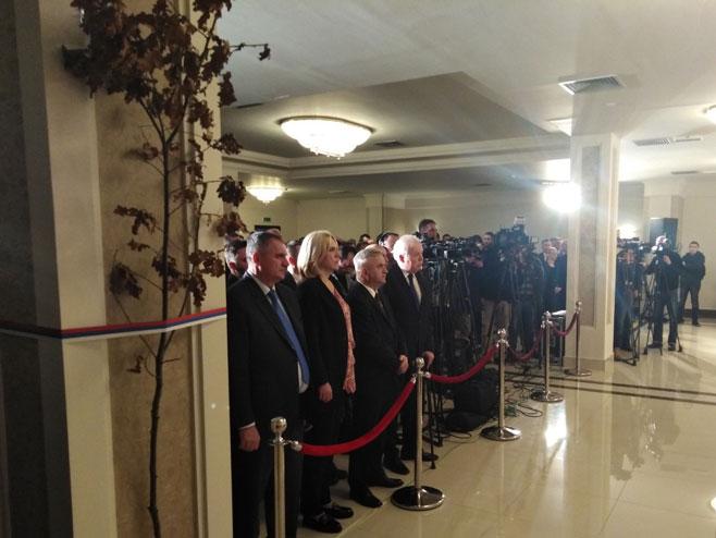 Delegacija Srpske (Foto: RTRS)