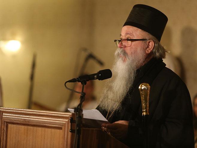 Mitropolit Hrizostom (Foto: Siniša Pašalić/RAS Srbija)
