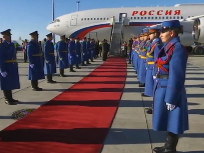 Putin u Beogradu (Foto: RTRS)