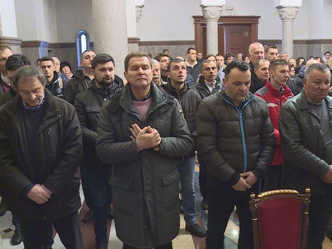 Bogojavljenje-litrugija u Banjaluci (Foto: RTRS)