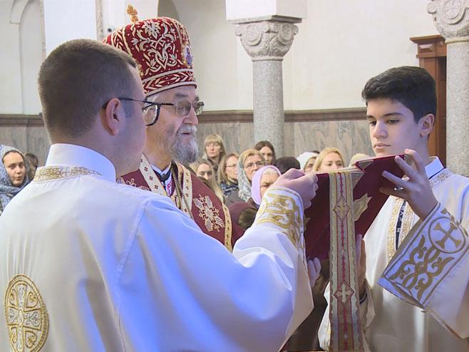 Bogojavljenje-liturgija u Banjaluci (Foto: RTRS)