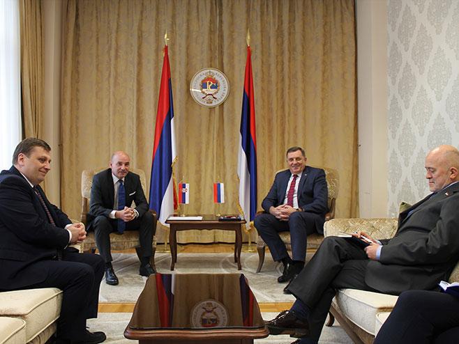 Dodik-Đorđević (Foto: RTRS)