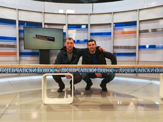 Rade Džajić i Miloš Đakić
