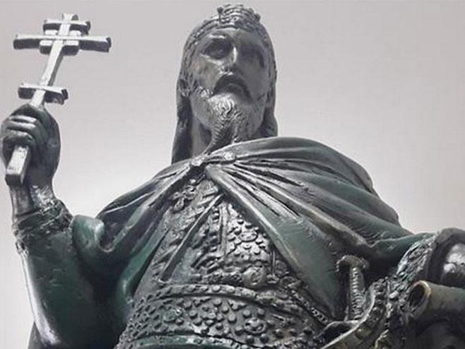 Zavrsen Temelj Za Spomenik Stefanu Nemanji