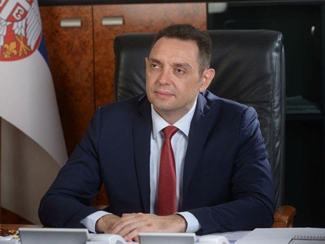 Aleksandar Vulin (Foto: Ministarstvo odbrane Srbije) -