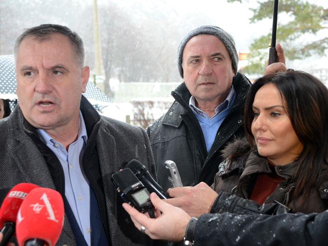Radovan Višković i Snežana Ružičić
