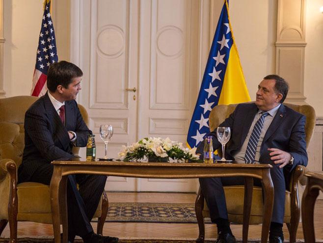 Nelson i Dodik (foto: Predsjedništvo BiH)