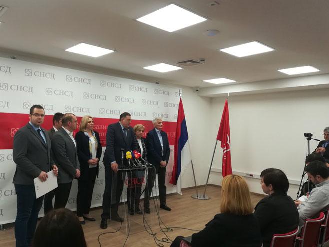Milorad Dodik - pres (Foto: RTRS)
