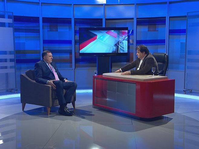 Milorad Dodik i Mato Đaković (Foto: RTRS)