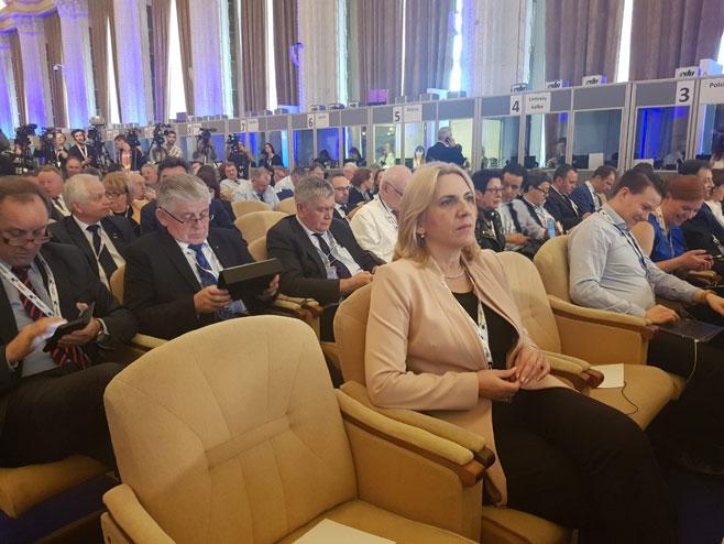 Cvijanovićeva na Samitu u Rumuniji (Foto: RTRS)