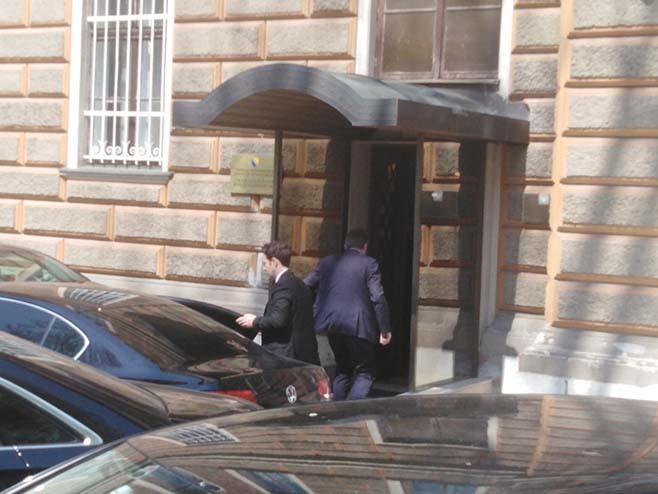 Изетбеговић стигао на састанак (Фото: РТРС)