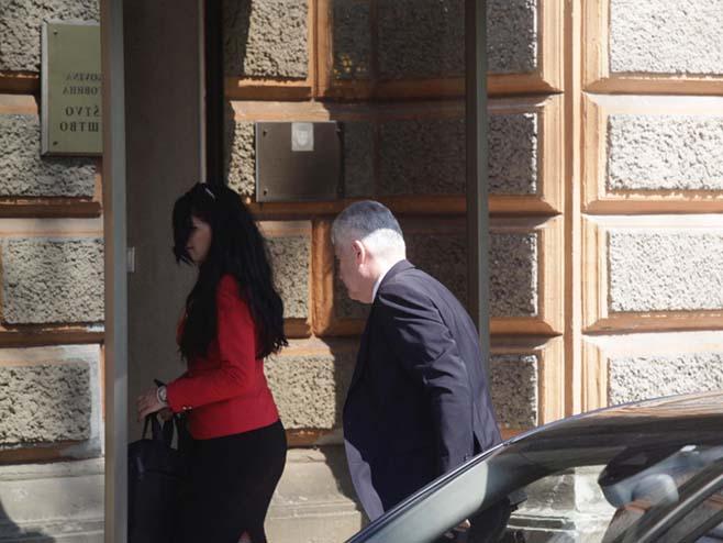 Човић стигао на састанак (Фото: Аваз)