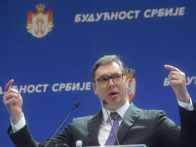 Александар Вучић (фото:Tanjug/Predsedništvo Srbije)