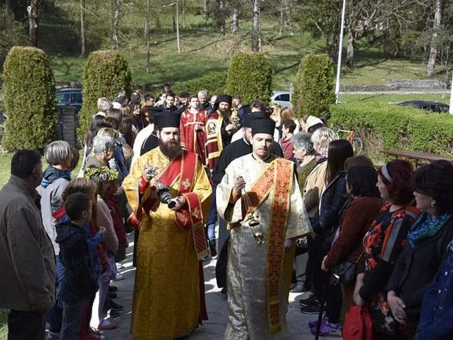 Cvjetna nedjelja u Drvaru (Foto: RTRS)